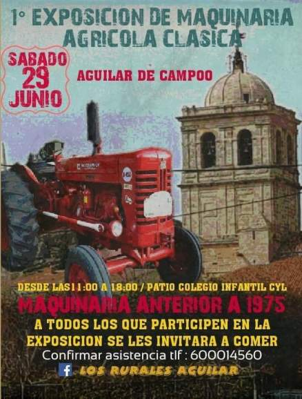 Tractor aguilar campoo